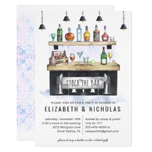 Stock the Bar | Couples Wedding Shower Invitation starting at 2.40