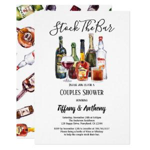 Stock The Bar Invitation Couples Shower starting at 2.35