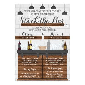 Stock the Bar Shower, Farmhouse Style Invitation starting at 2.45