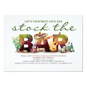 Stock the Bar Taco Fiesta Party Invitations starting at 2.51