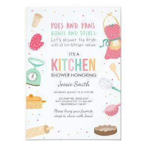 Stock the Kitchen Bridal Shower Invitation Cooking starting at 2.66