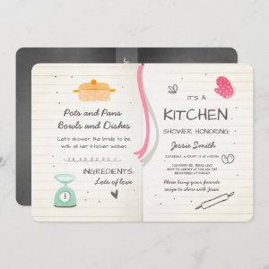 Stock the Kitchen Bridal Shower  Cooking starting at 2.86