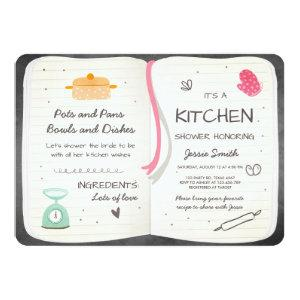 Stock the Kitchen Bridal Shower Invitation Cooking starting at 2.86