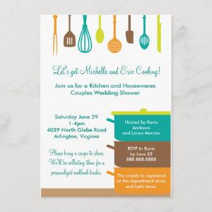 Stock the Kitchen Bridal Wedding Couples Shower starting at 2.21