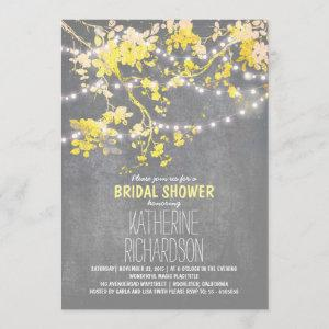 String lights cute and fancy bridal shower invitation starting at 2.66