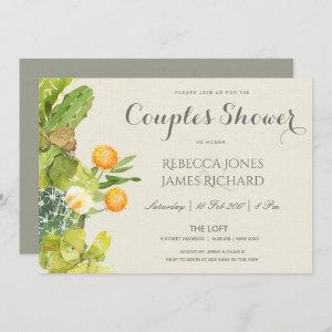 SUCCULENT CACTUS FLORAL GARDEN COUPLES SHOWER starting at 2.51