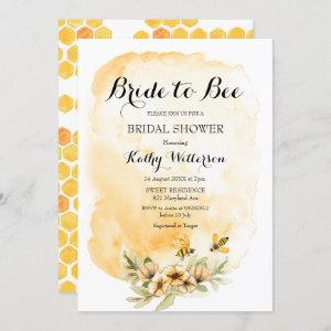 Summer Bride to Bee Bridal Shower starting at 2.55