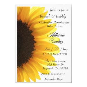 Sunflower Bridal Shower Invitation starting at 2.40