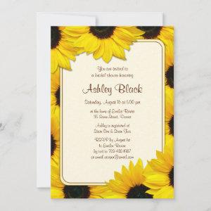 Sunflower Country Bridal Shower Invitation starting at 2.66