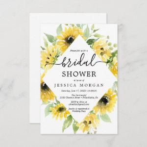 Sunflower Garden Bridal Shower Invitation Card starting at 1.95