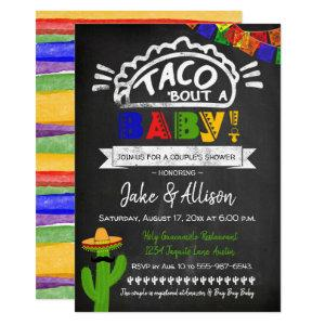 Taco Baby Shower for Couple Invitation starting at 2.40