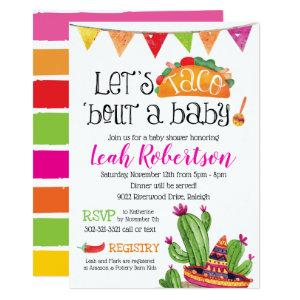 Taco bout a Baby - Baby Shower Invitation starting at 2.66