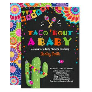 Taco Bout a Baby Fiesta Baby shower invitation starting at 2.66