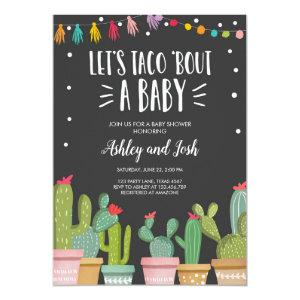 Taco Bout a Baby Fiesta Couples Shower Invitation starting at 2.66