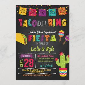 Taco Bout a Ring - Engagment/Couples Shower Invitation starting at 2.50