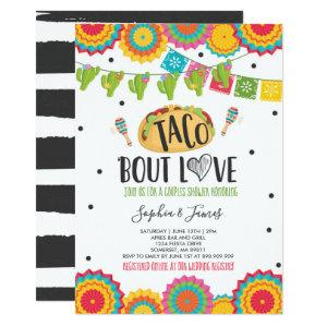 Taco 'Bout Love Couples Engagement Fiesta Party Invitation starting at 2.56