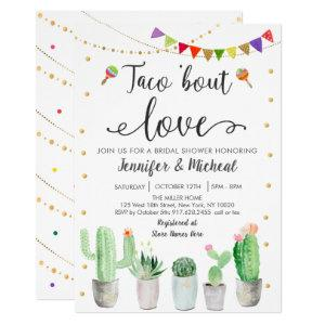 Taco 'Bout Love Fiesta Cactus Bridal Shower Invitation starting at 2.70
