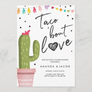 Taco Bout Love Fiesta Couples Shower Cactus Invitation starting at 2.66