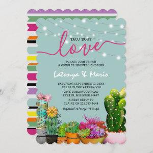 Taco 'bout Love Fiesta Couples Shower Invitation starting at 2.65