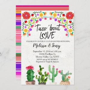 Taco Bout Love Fiesta Couples Shower Invitation starting at 2.55