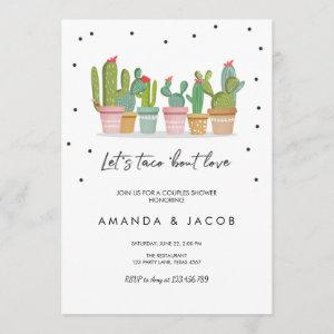 Taco Bout Love Fiesta Couples Shower Invite Cactus starting at 2.66