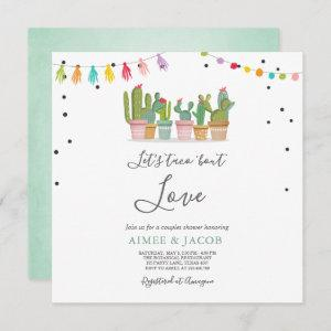 Taco Bout Love Fiesta Couples Shower Invite Cactus starting at 2.51
