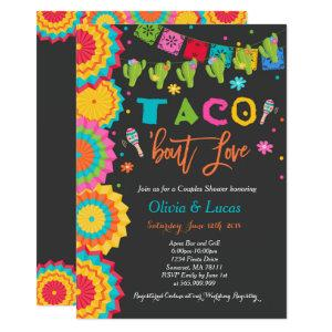 Taco Bout Love Invitation Couples Fiesta Shower starting at 2.56
