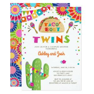 Taco Bout Twins Fiesta Baby Shower Invitation starting at 2.66