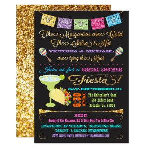 Tacos and Tequila Couples Bridal Shower Fiesta Invitation starting at 2.51