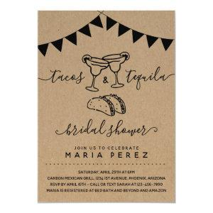 Tacos & Tequila Couples' Bridal Shower Invitation starting at 2.61
