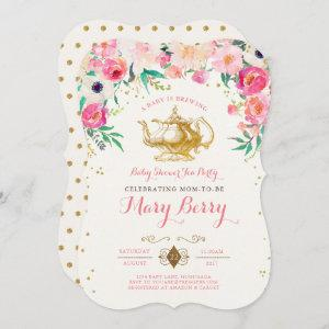 Tea Party Baby Shower Invitation starting at 2.76