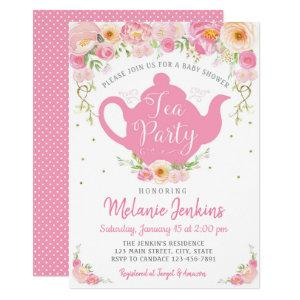 Tea Party Baby Shower Sprinkle Invitation starting at 2.45