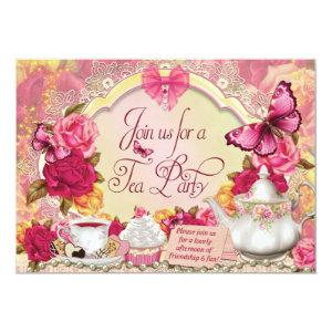 Tea Party Invitations starting at 2.82