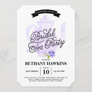 Tea Party Purple | Bridal Shower starting at 2.76