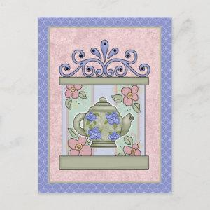 Tea Time Cards, Postage, Tees, GIfts Postcard starting at 1.35