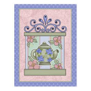 Tea Time Cards, Postage, Tees, GIfts Postcard starting at 1.40