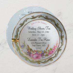 Teacup Tea Party Bridal Shower Invitation starting at 2.66