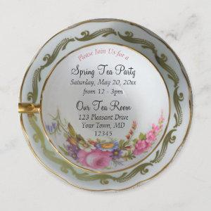 Teacup Tea Party Invitation starting at 2.66