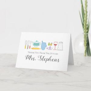 Thank You From The Future Mrs. Thank You Notes starting at 3.50