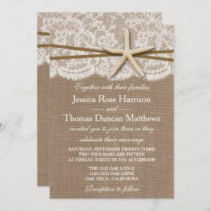 The Rustic Starfish Beach Wedding Collection starting at 2.45
