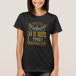 This Witch can be bribed with chocolate T-Shirt starting at 19.20