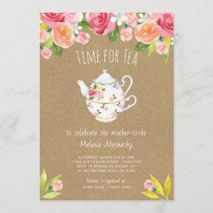 Time for tea baby shower starting at 2.51