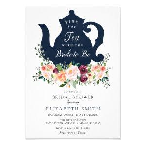 Time for Tea Bridal Shower Invitation starting at 2.30
