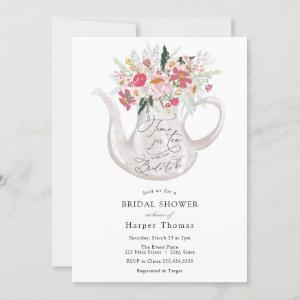 Time for Tea with the Bride-to-be Bridal Shower In Invitation starting at 2.55