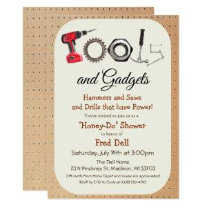Tools & Gadgets Honey Do Shower Invitation starting at 2.61
