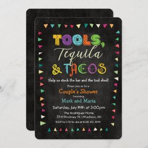 Tools Taco & Tequila Wedding Shower Invitation starting at 2.81
