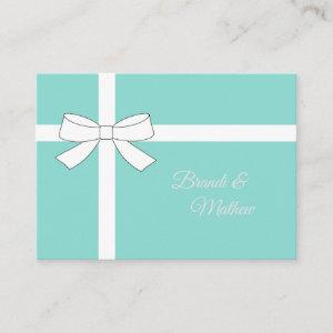 Traditional Bride Wedding Suite Insert Card starting at 0.45