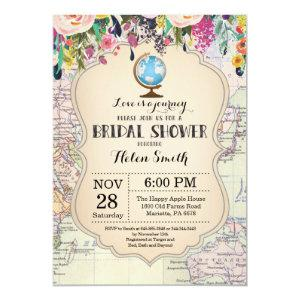 Travel Bridal Shower Invitation starting at 2.35