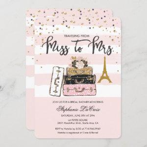 Traveling from Miss to Mrs Bridal starting at 3.05