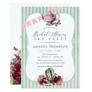 Trend Alice In Wonderland Tea Party Bridal Shower Invitation starting at 2.66